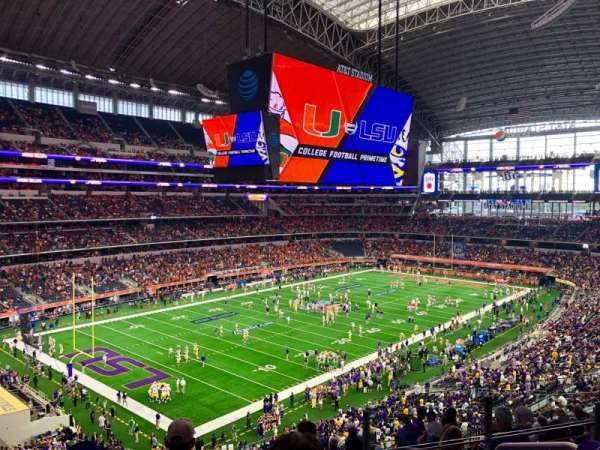 AT&T Stadium, section: 343, row: 15, seat: 4