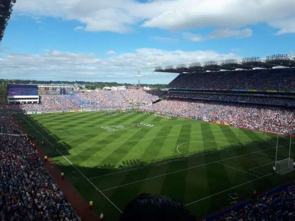 croke park, section: davin stand upper, row: c