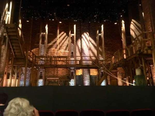 CIBC Theatre, section: Orchestra c, row: F, seat: 105