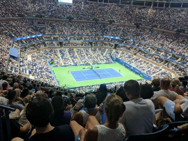 Arthur Ashe Stadium, section: 308, row: P, seat: 8