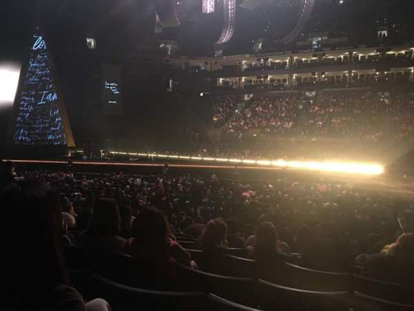 Oakland Arena, section: 115, row: 10, seat: 5
