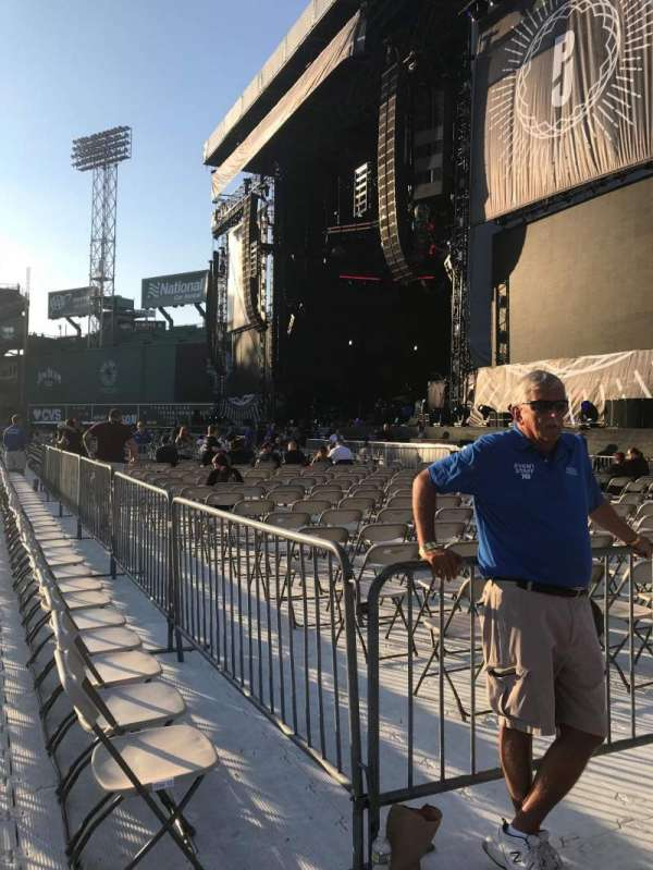 Fenway Park, section: A1, row: 14, seat: 28