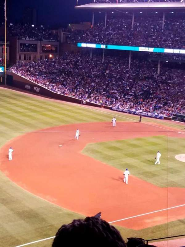 Wrigley Field, section: 307L, row: 5, seat: 3 and 4
