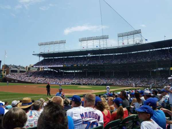 Wrigley Field, section: 8, row: 8, seat: 3 and 4