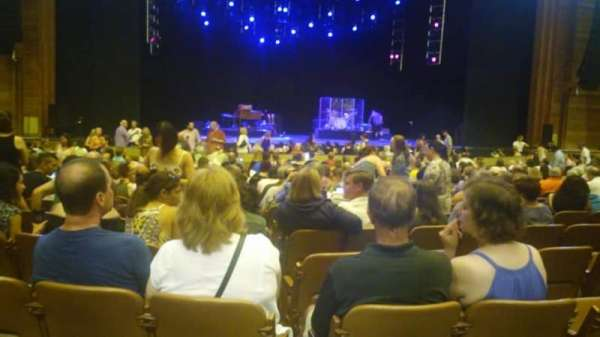 Wolf Trap, section: Orchestra, row: Q, seat: 26