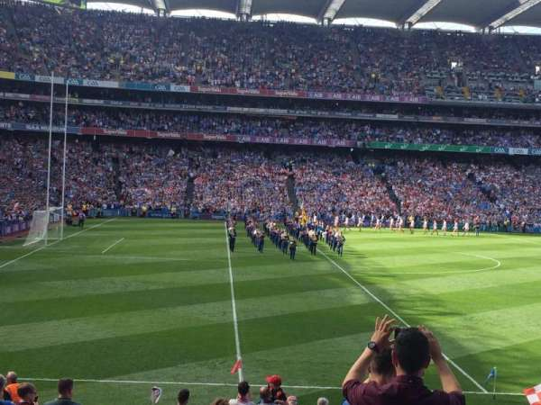Croke Park, section: 310, row: AA, seat: 7
