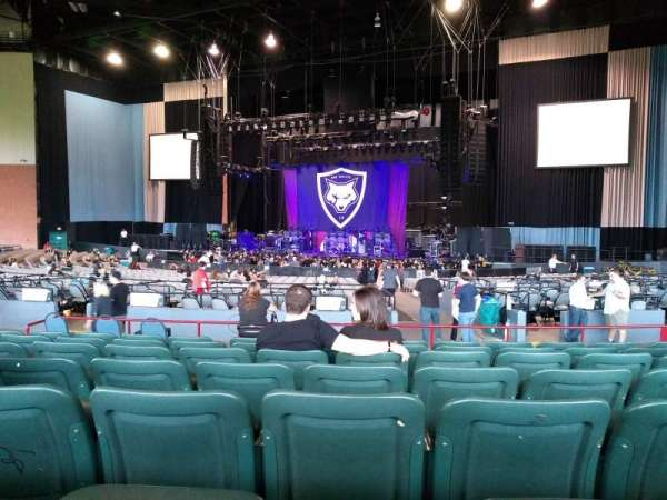 Xfinity Theatre, section: 500, row: JJ, seat: 13