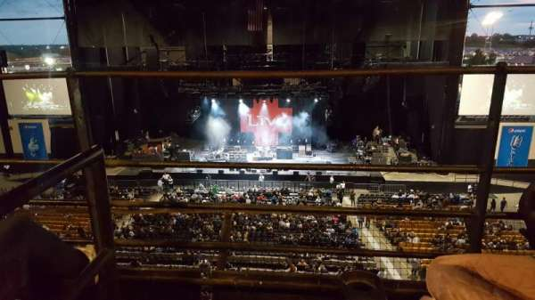 Hollywood Casino Amphitheatre (Tinley Park), section: Suite 211, row: 2, seat: Aisle