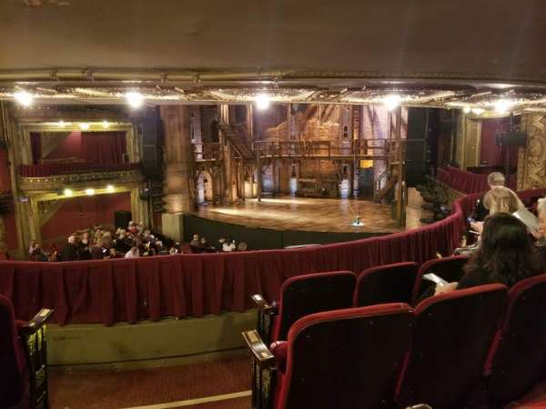 CIBC Theatre, section: Dress circle r, row: D, seat: 4