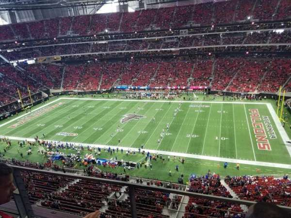 Mercedes-Benz Stadium, section: 337, row: 2, seat: 3