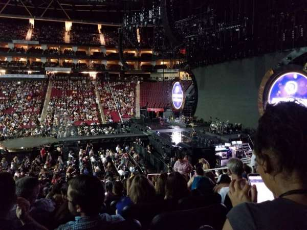 Toyota Center, section: 106, row: 18, seat: 7