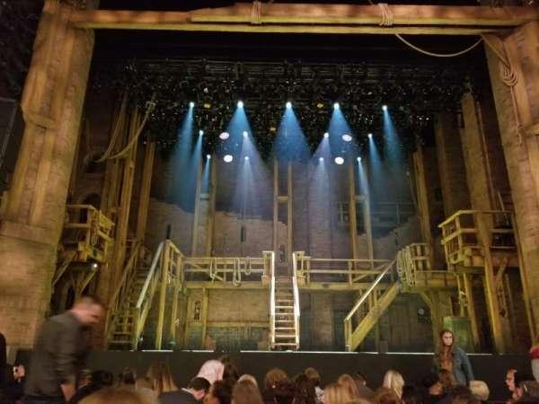 CIBC Theatre, section: Orchestra C, row: J, seat: 105