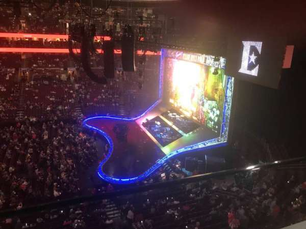 Wells Fargo Center, section: 214, row: 1, seat: 14