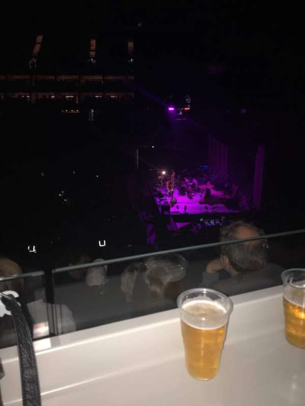 The O2 Arena, section: 112, row: ZZ, seat: 140