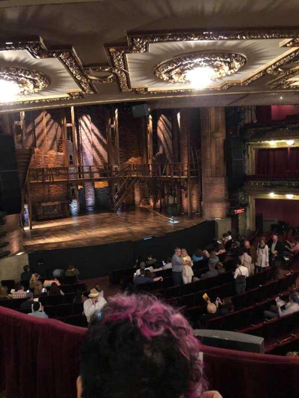 CIBC Theatre, section: Dress Circle Left, row: B, seat: 3