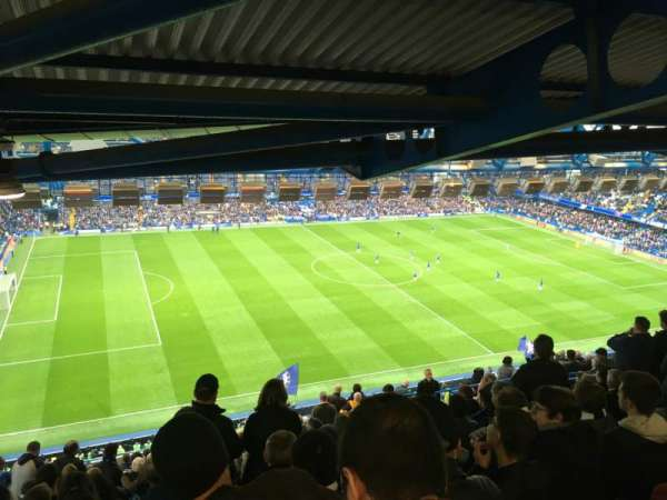 Stamford Bridge, section: West Upper, row: 23, seat: 17