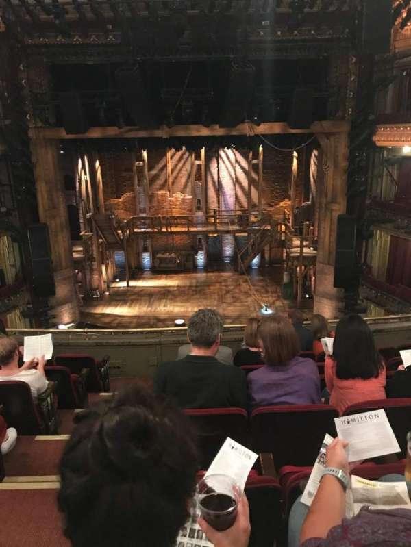 CIBC Theatre, section: MezzRCG 14, row: G, seat: 302