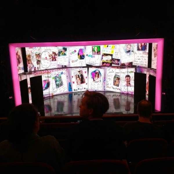 August Wilson Theatre, section: Mezzanine C, row: D, seat: 106