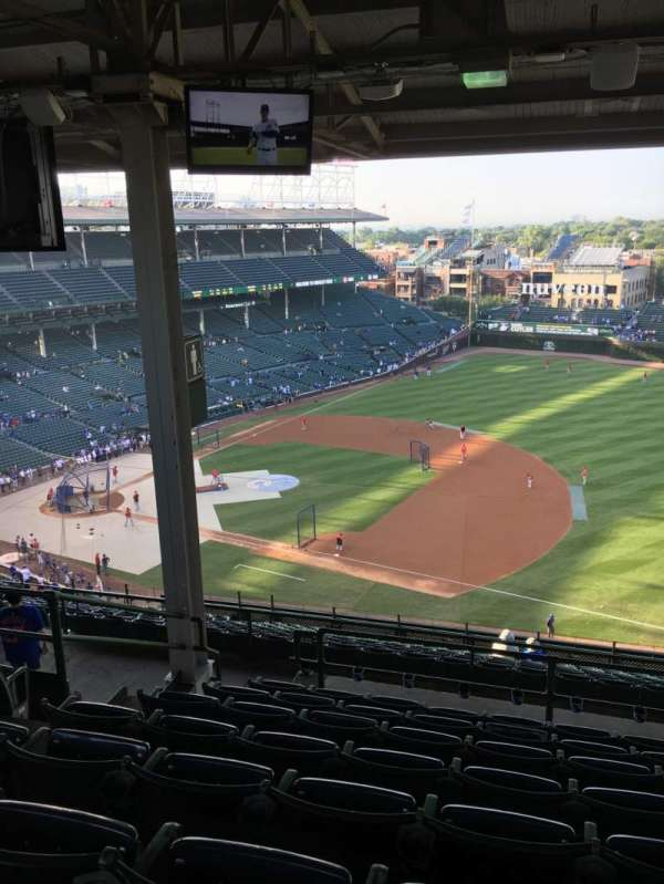 Wrigley Field, section: 523, row: 8, seat: 5