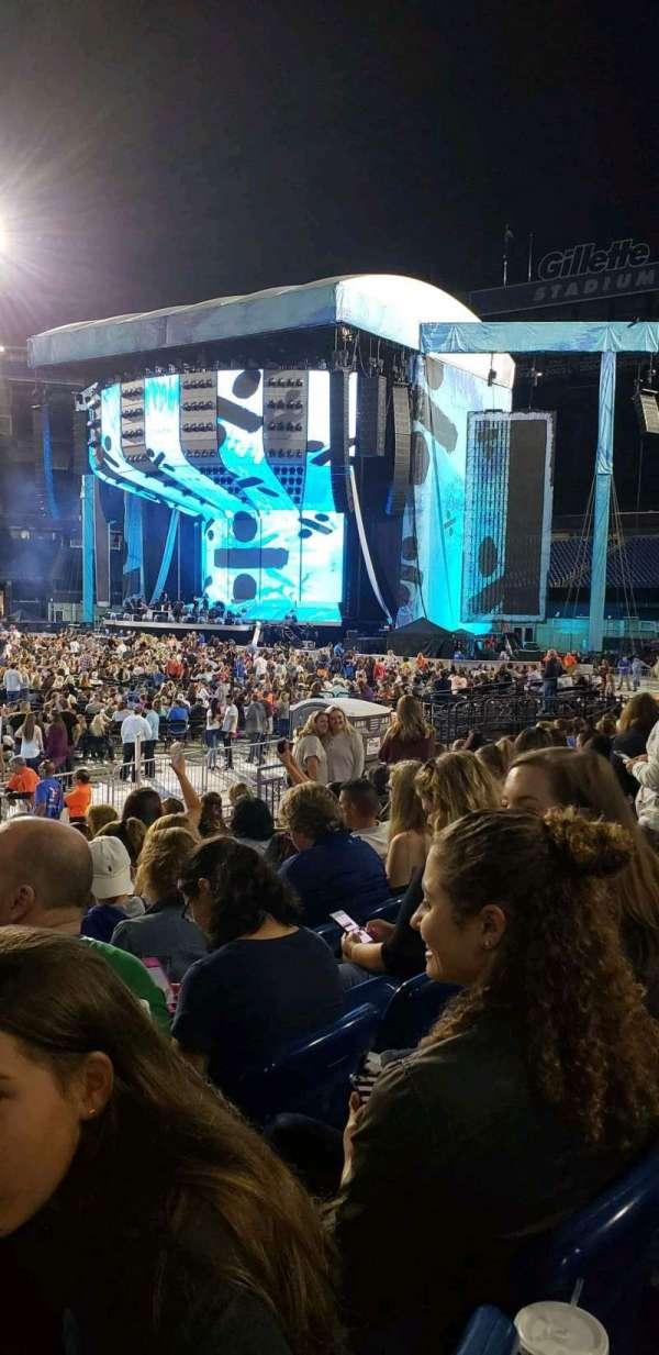 Gillette Stadium, section: 132, row: 8, seat: 15