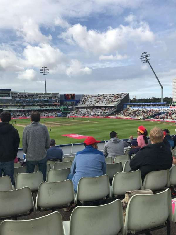 Edgbaston Cricket Ground, section: 16B, row: T, seat: 26