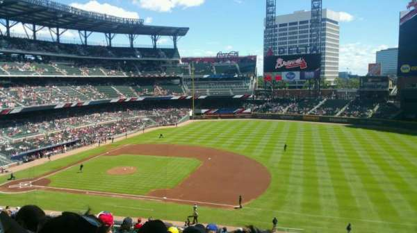 SunTrust Park, section: 217, row: 18, seat: 1-2