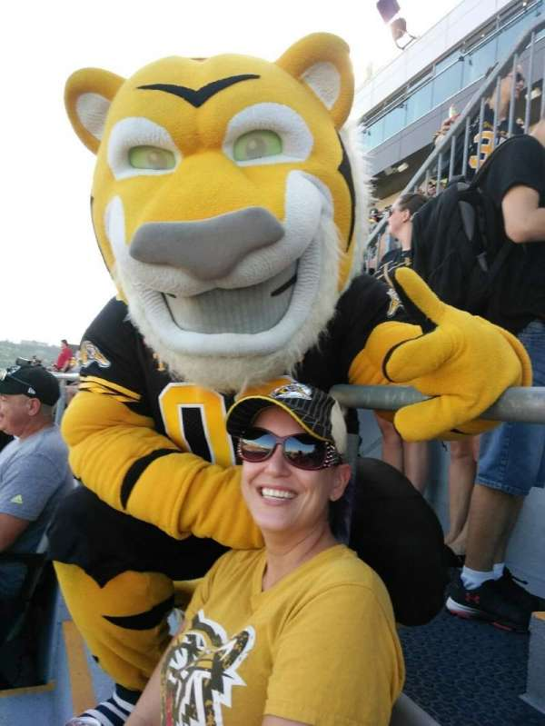 Tim Hortons Field, section: 207, row: 1, seat: 1