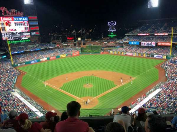 Citizens Bank Park, section: 420, row: 6