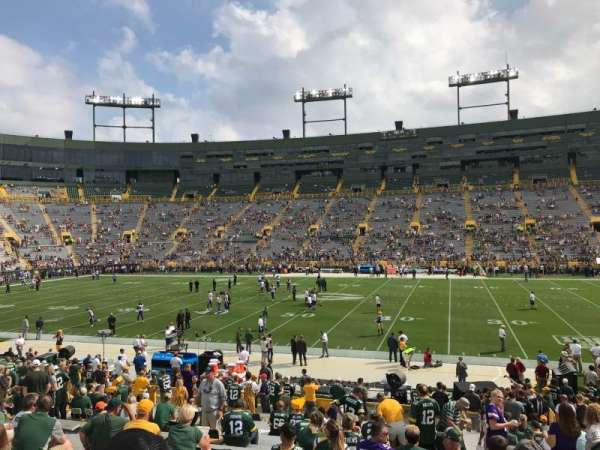 Lambeau Field, section: 122, row: 26, seat: 15