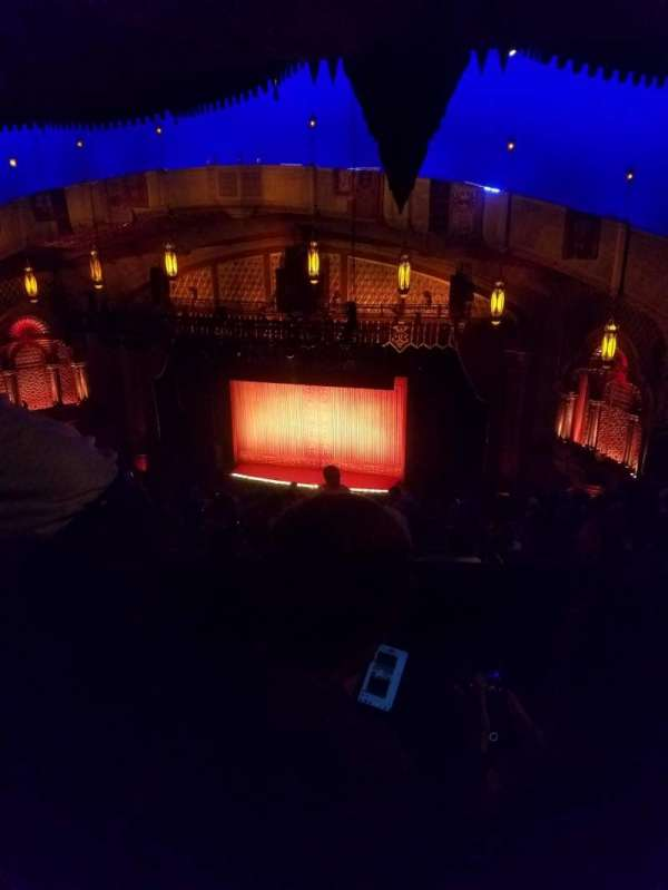 Fox Theatre (Atlanta), section: grb, row: s, seat: 20