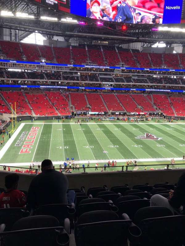 Mercedes-Benz Stadium, section: 215, row: 6, seat: 9