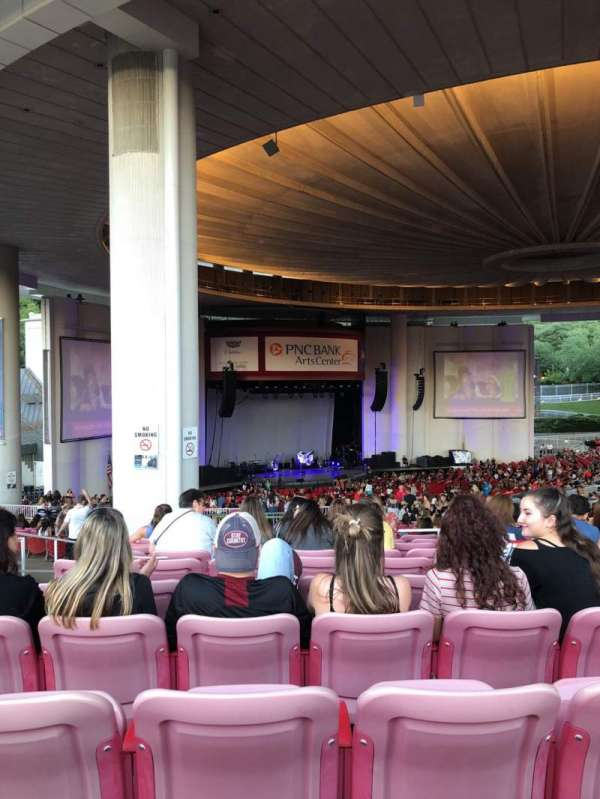 PNC Bank Arts Center, section: 404, row: L, seat: 179
