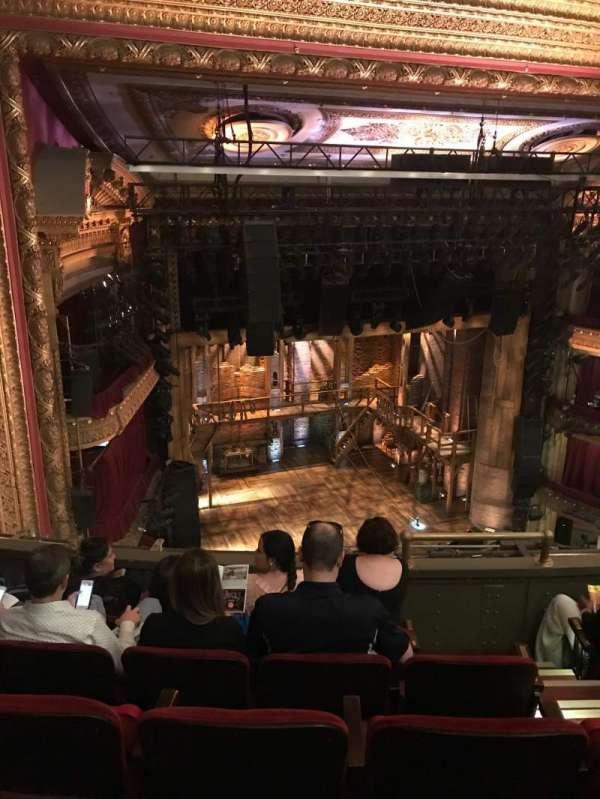CIBC Theatre, section: Balcony L, row: E, seat: 7