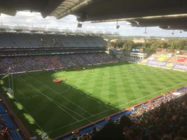 Croke Park, section: 712, row: W, seat: 12