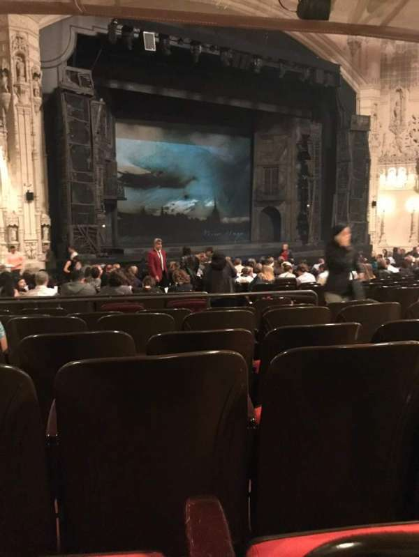 Orpheum Theatre (San Francisco), section: Orchestra L, row: Y, seat: 13