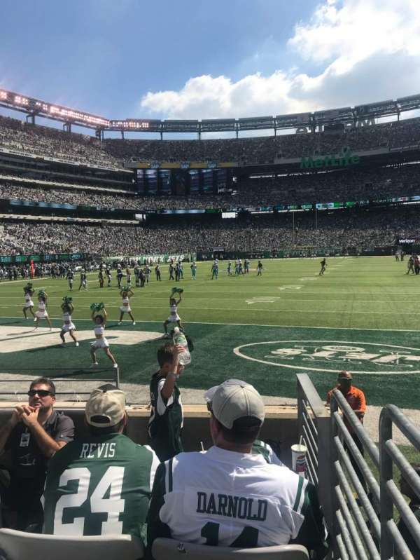 MetLife Stadium, section: 148, row: 5, seat: 20