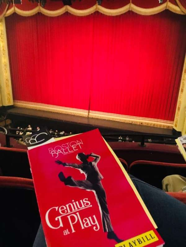 Citizens Bank Opera House, section: Dress Circle RC, row: CC, seat: 14