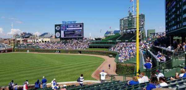 Wrigley Field, section: 242, row: 13, seat: 106