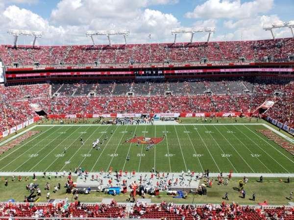 Raymond James Stadium, section: 311, row: A, seat: 13