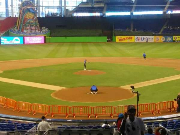 Marlins Park, section: 15, row: 14, seat: 2