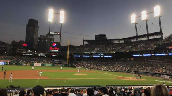 Comerica Park, section: 134, row: 26, seat: 14