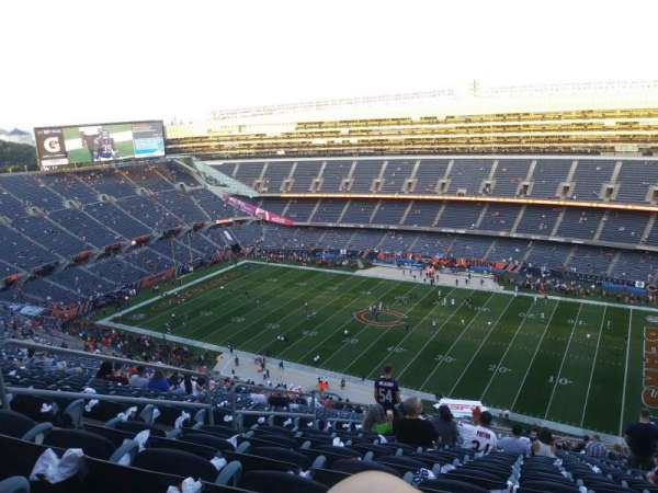 Soldier Field, section: 433, row: 36, seat: 6