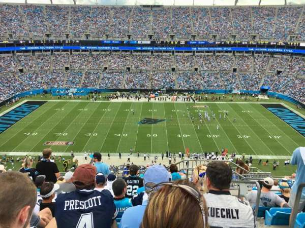 Bank Of America Stadium , section: 515, row: 11, seat: 1