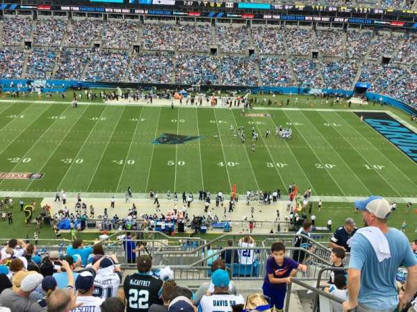 Bank Of America Stadium, section: 515, row: 11, seat: 1