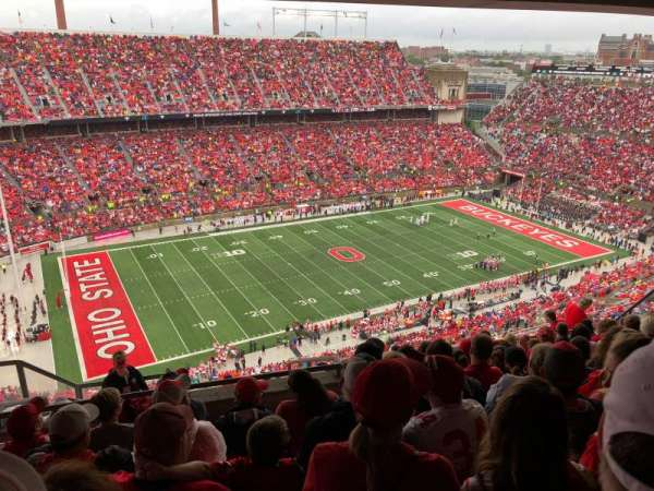 Ohio Stadium, section: 15D, row: 11, seat: 6