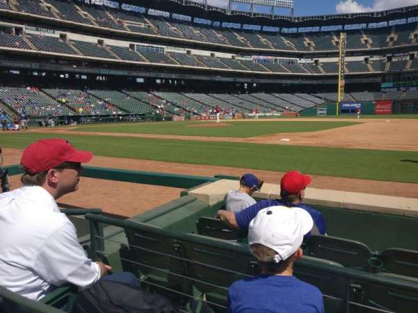 Globe Life Park in Arlington, section: 34, row: 15, seat: 15