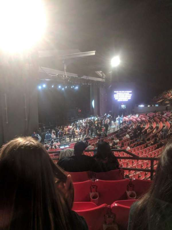 The Greek Theatre, section: North Terrace R1, row: EE, seat: 15