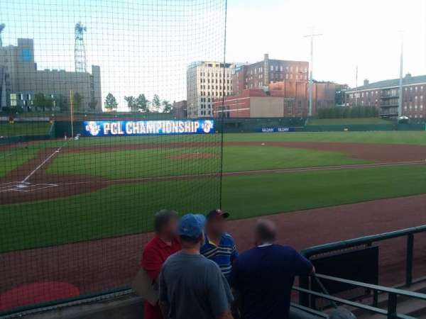 AutoZone Park, section: 105, row: E, seat: 5