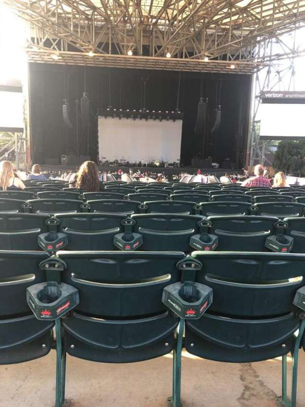 Verizon Amphitheatre, section: 103, row: N, seat: 30