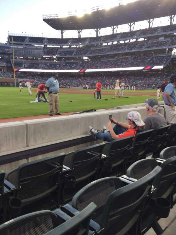 SunTrust Park, section: 38, row: 3, seat: 10